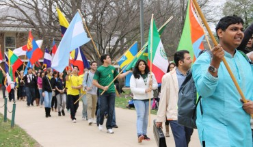 This year's International Week features a number of events promoting national pride (photo courtesy of University Life).