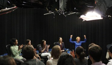 Women in Film Panel provides insightful looks into different women's experiences and advice for navigating the film industry (photo by Amy Rose).