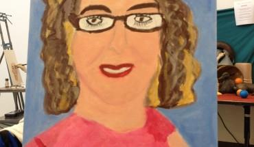 Self-portrait by Z Biron.