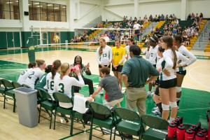 Mason women's volleyball looks to have a bounce back year in 2014.