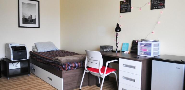 Gmu Commons Dorm Room