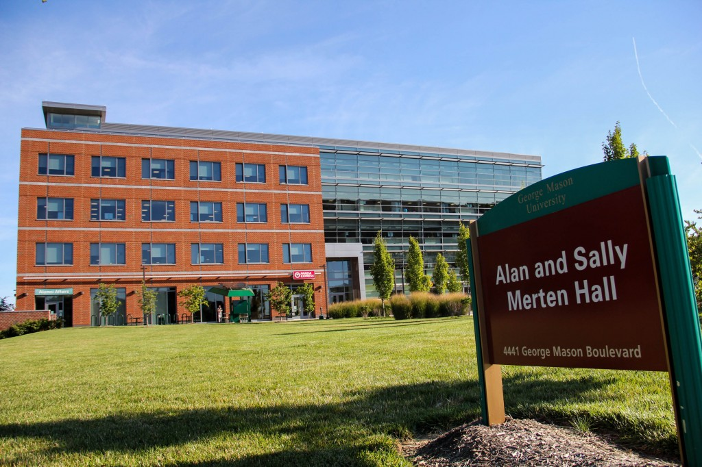 "Merten Hall is an example of a ""green"" building on campus. Photo Credit: Amy Rose"