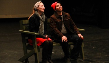 Madison Landis and Matt Succi in Almost Maine