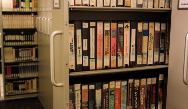 VHS in the Gateway Media Library in the JC