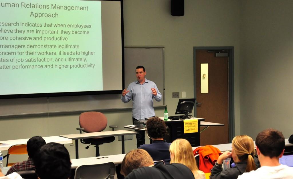 Dr. Atwater teaching. Photo credit: Johannah Tubalado