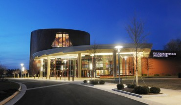 Hylton Performing Arts Center. Photo credit: George Mason University Creative Services