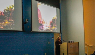 Stacy Levi presents at Ecoscience +art