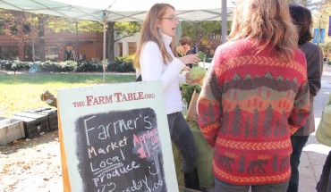 Farmers market in North Plaza every Thursday from 11-1