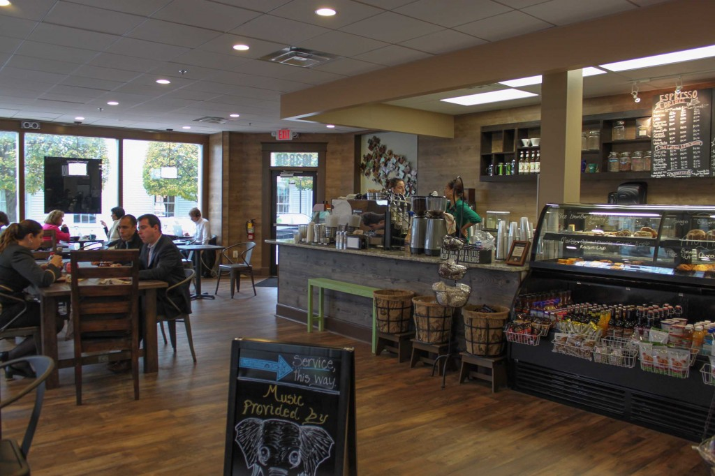 The new cafe in Old Town