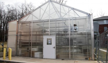 Greenhouse in Presidents Park