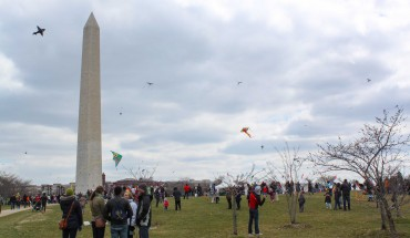 The fifth annual Blossom Kite Festival as part of the National Cherry Blossom Festival. Photo by Amy Podraza.