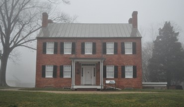 Grandma's Cottage, the house that Margaret Conn Wilcoxon Farr lived in back in the 1800s, resides on the Blenheim Estate off of Old Lee Highway in Fairfax.