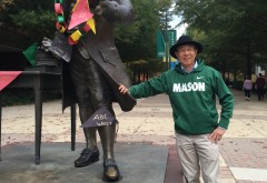Dr. Yu, formally one of the two Associate Directors of Diversity, Inclusion, and Multicultural Education at GMU. (Naomi Folta/IV Estate)
