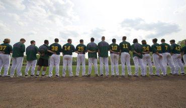 baseball team back