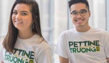 Bekah Pettine and Erik Truong