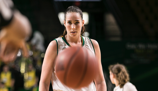 She played one year at Mason-- but left the legacy of a