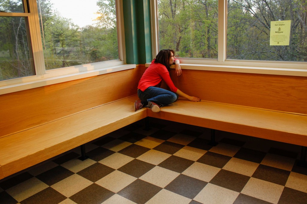 Best places to cry on campus 2015