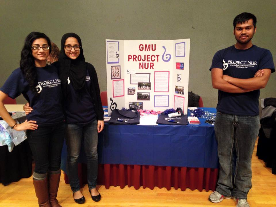 Project Nur officers at winter RSO fair.