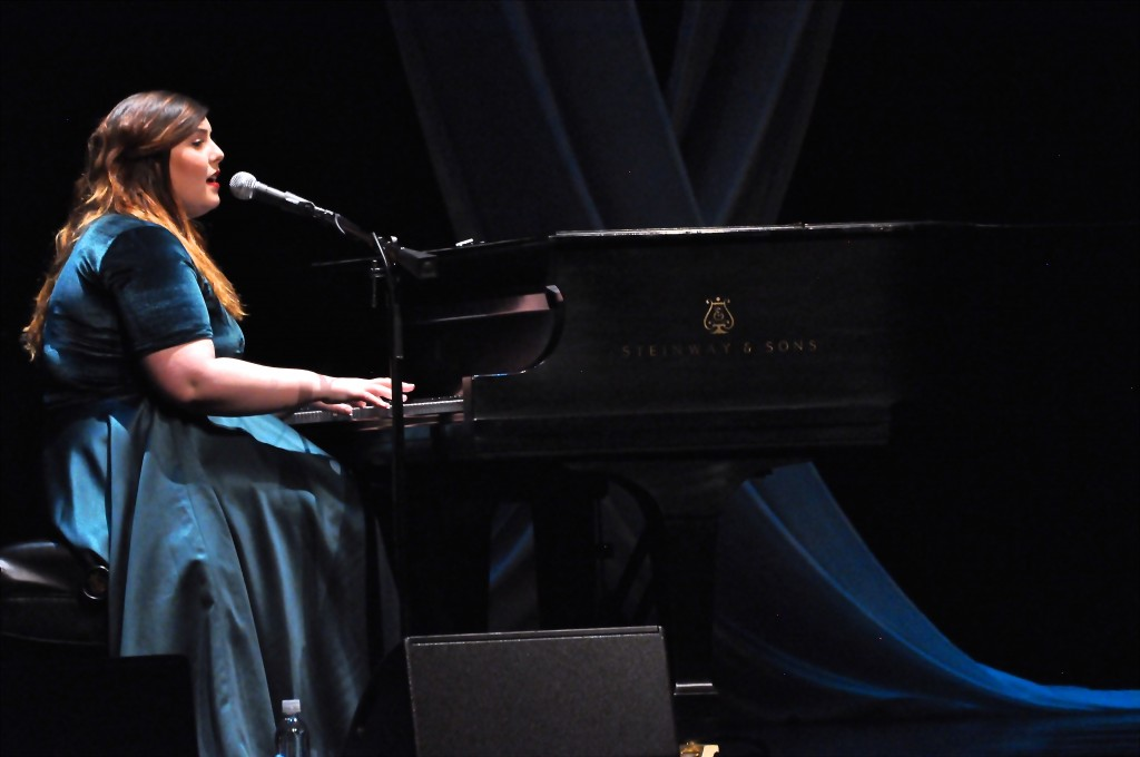 Mary Lambert performed last night at the Center for the Arts. Photo by Johannah Tubalado.