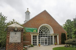 St. Robert Bellarmine Chapel, home to Catholic Campus Ministry (Claire Cecil/Fourth Estate)