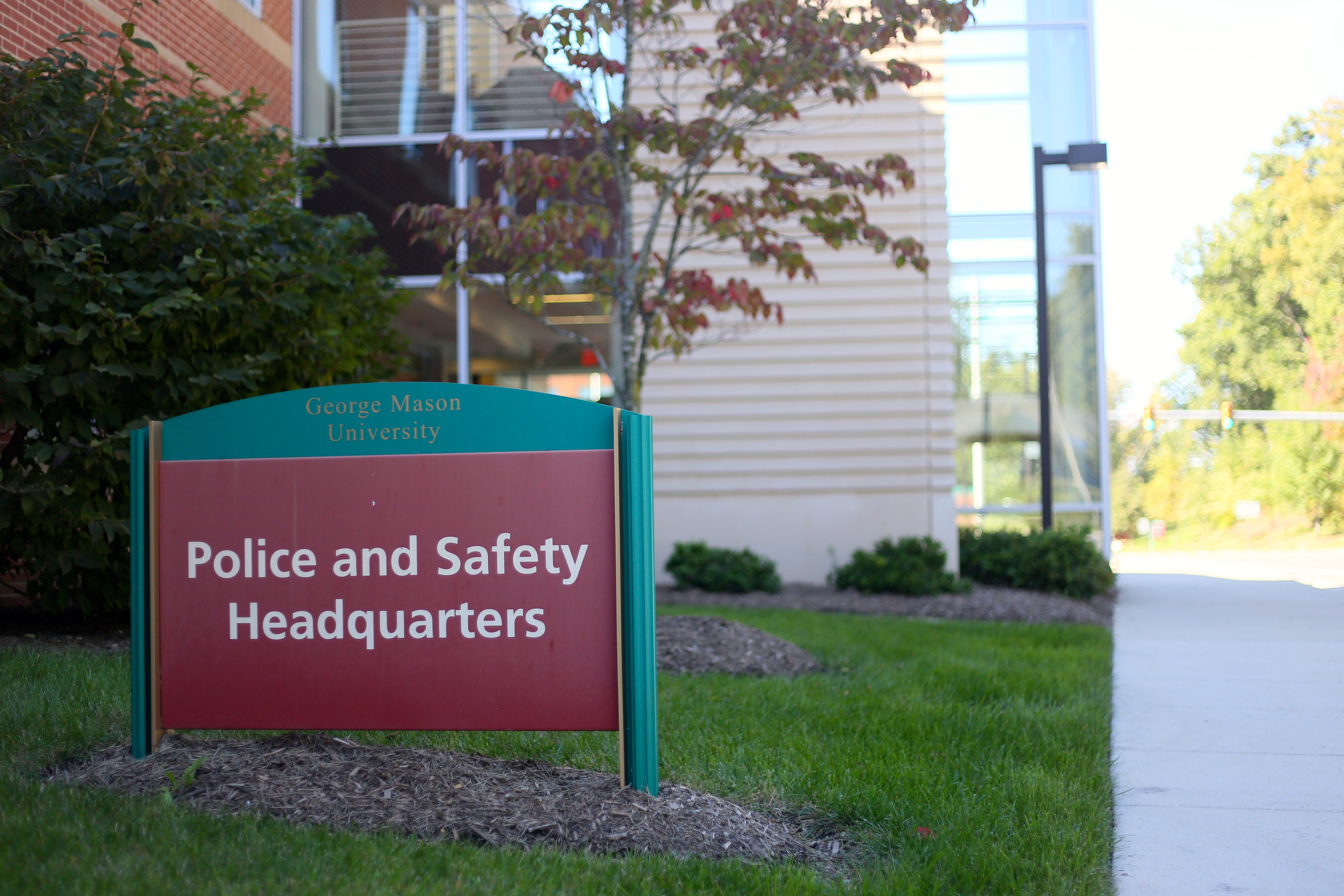 GMU's Police and Safety Headquarters, located right off Campus Drive right behind Rappahannock Parking deck. (Photo credit: Naomi Folta/ IV Estate)