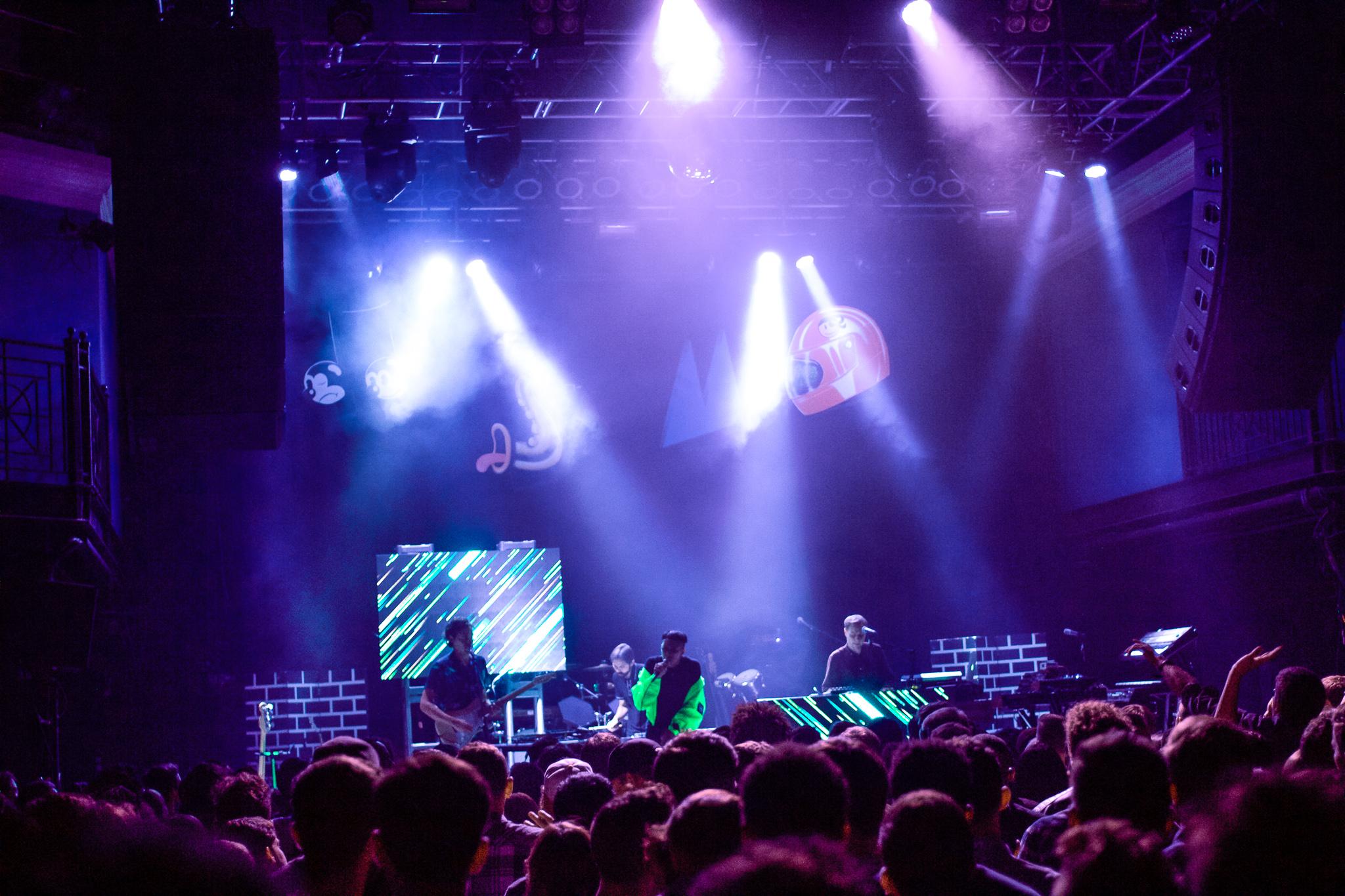 CLASSIXX playing at 9:30 Club in DC. PC: Naomi Folta