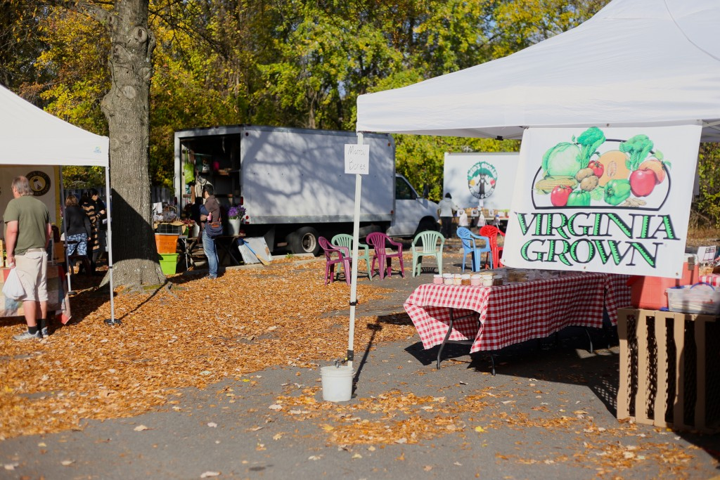 The McLean Farmers Market is every Friday from 8am to noon starting in May and ending November 20th.  (PC Naomi Folta)