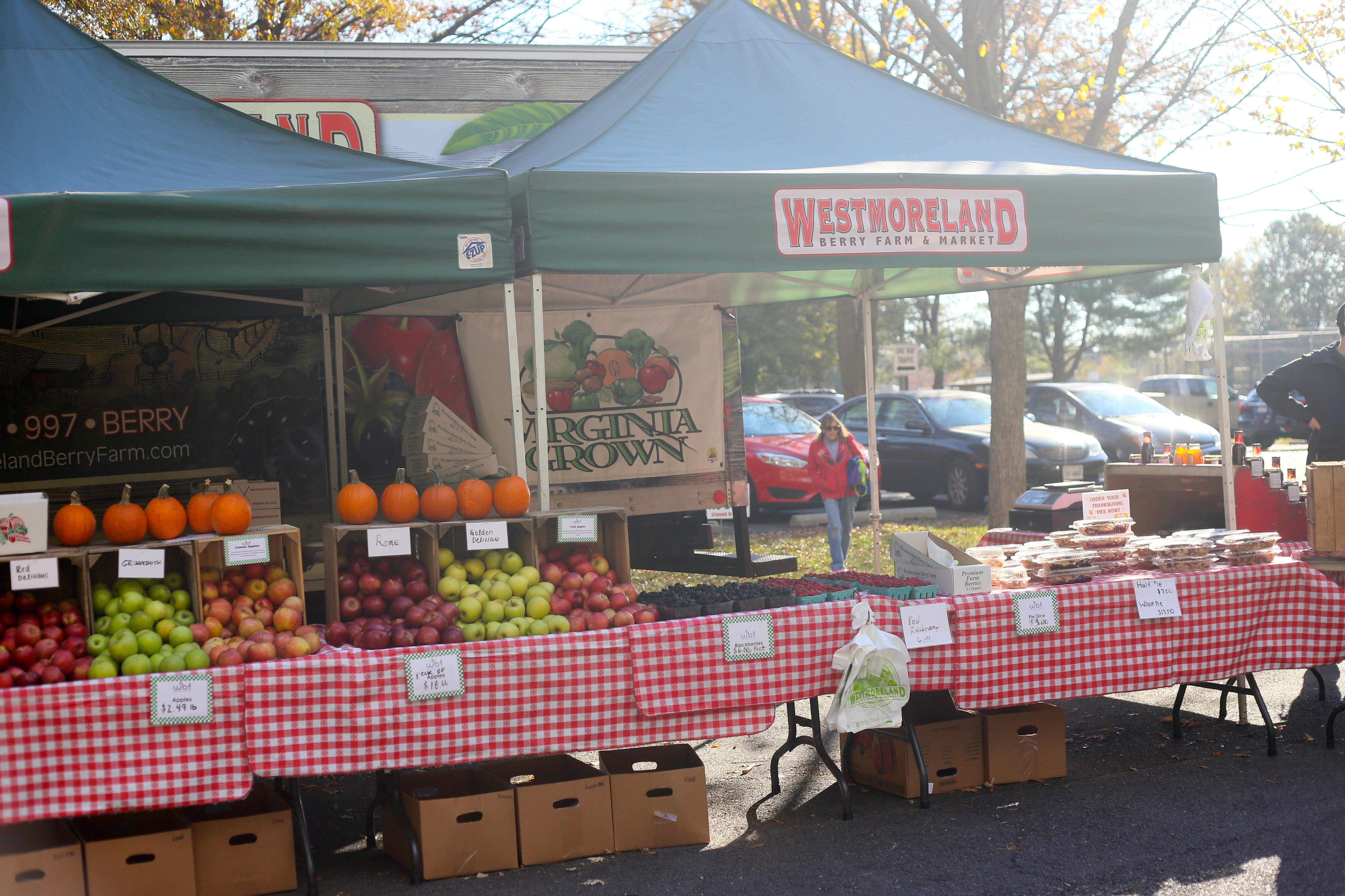 Westmoreland Berry Farm and Market grow the freshest strawberries, blackberries, and make delicious pies.